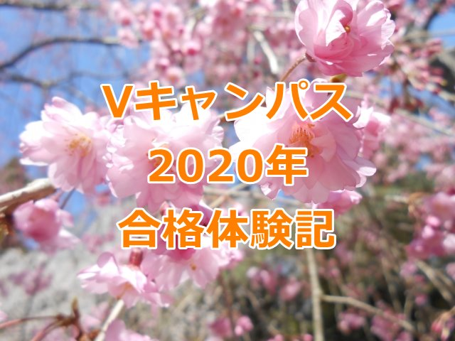大学受験 京都市 Vキャンパス 合格体験記